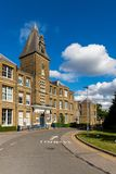 Het ziekenhuis van het jachtlandbouwbedrijf in Enfield Londen stock afbeeldingen