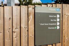 Het ziekenhuis van het jachtlandbouwbedrijf in Enfield Londen stock foto