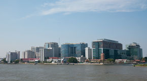 Het Ziekenhuis van Sirirat in Bangkok, Thailand Royalty-vrije Stock Foto