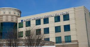 Het ziekenhuis voor Vrouwen in Baptist Memorial, Memphis Tennessee royalty-vrije stock afbeelding