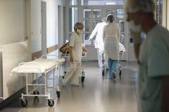 Het ziekenhuisgang stock afbeeldingen