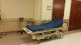 Het ziekenhuisgurney Stock Foto's