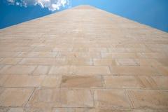 Het zij Zandsteen Verenigde Staten van het Monument van Washington Royalty-vrije Stock Afbeeldingen