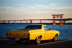 Het zijaanzicht van Chevrolet van Gr-Camino Royalty-vrije Stock Foto's