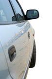 Het zijaanzicht van de auto stock afbeeldingen