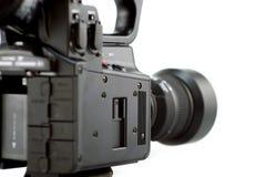 Het zijaanzicht van de camera royalty-vrije stock afbeelding