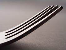 Het zijaanzicht van de vork Stock Foto's