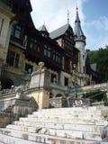Het zijaanzicht van Peles van het kasteel Stock Fotografie