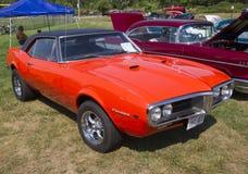 1967 het Zijaanzicht van Pontiac Firebird Stock Foto's