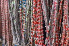 Het zijdegaren verfte van nature kleur Royalty-vrije Stock Fotografie