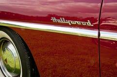 1953 het zijdetail van Hudson Hornet Hollywood Royalty-vrije Stock Afbeelding