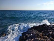 Het Zijstrand van Turkije Antalya Manavgat Royalty-vrije Stock Fotografie