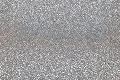 Het zilver schittert achtergrond Abstracte glanzende textuur Stock Afbeeldingen