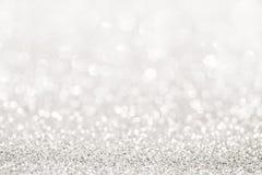 Het zilver schittert licht stock fotografie