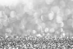 Het zilver schittert voor abstracte achtergrond stock afbeeldingen