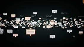 Het Zilver van tekstberichten royalty-vrije illustratie