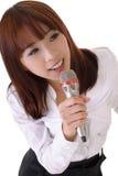 Het zingen Stock Fotografie