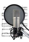 Het zingen van de Blauw Royalty-vrije Stock Foto's