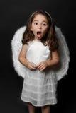Het zingen van de engel hymnes of verering royalty-vrije stock foto's