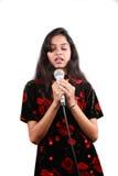 Het zingen van een Gebed stock foto