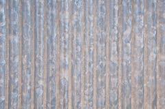 Het zink galvaniseerde golfpatroon Stock Afbeeldingen