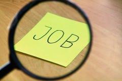 Het zoeken naar een nieuwe baan Royalty-vrije Stock Fotografie