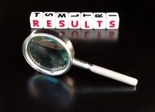Het zoeken naar resultaten stock fotografie