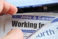 Het zoeken van een baan