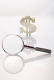Het zoeken van geld Royalty-vrije Stock Foto
