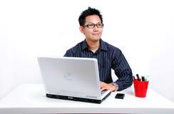 Het zoeken van het idee Stock Foto