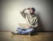 Het zoeken van ideeën Stock Foto