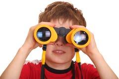 Het zoeken van jongen Stock Foto's