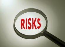 Het zoeken van risico's Royalty-vrije Stock Foto's