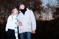 Het zoeken van zonsondergang Stock Fotografie