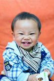 Het zoete baby glimlachen Stock Foto