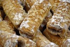 Het zoete beeld van het straatvoedsel Royalty-vrije Stock Foto's