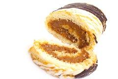 Het zoete brood van het besnoeiingsvlees Stock Foto