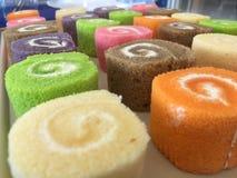 Het zoete broodje van de verscheidenheidskleur Stock Afbeelding