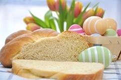 Het zoete Duitse Brood van Pasen Royalty-vrije Stock Foto's