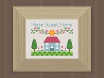 Het zoete huis van het huis Stock Foto