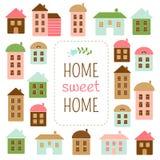 Het Zoete Huis van het huis stock illustratie