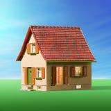 Het zoete huis van het huis Stock Afbeelding
