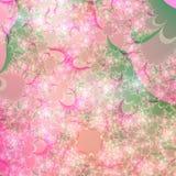 Het zomerse Abstracte Malplaatje Achtergrond van het Ontwerp Stock Foto