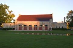 Het Zonlicht van het Paviljoen van Wigington stock afbeeldingen