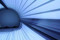 Het zonnen van bank Royalty-vrije Stock Afbeeldingen
