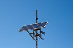 Het zonnepaneel Stock Fotografie