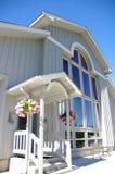 Het zonnige Huis van de Luxe stock afbeeldingen