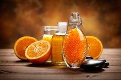 Het zout en de vruchten van het bad Royalty-vrije Stock Foto's