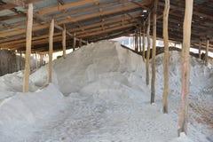 Het zout van de garagerots Stock Afbeeldingen