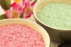 Het zout van het bad Royalty-vrije Stock Foto